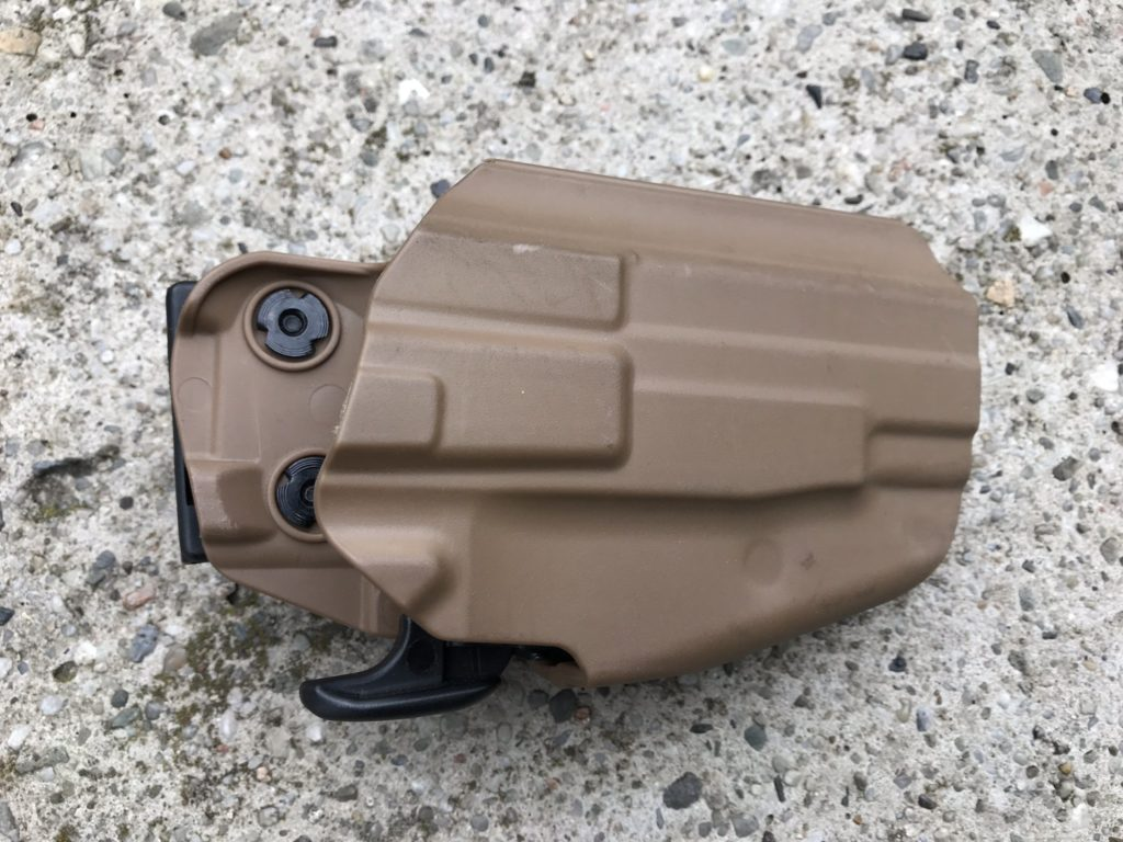 TMC 5X79 Compact universal holster close up