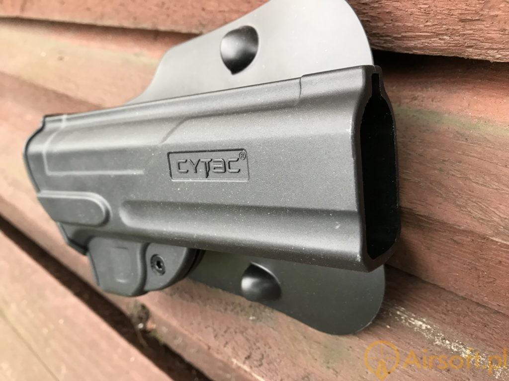 Cytac Fast Draw holster close-up 2
