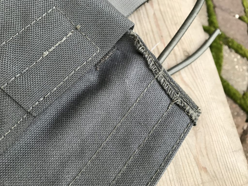 Rush Plate Carrier - quality of workmanship, closeup 2