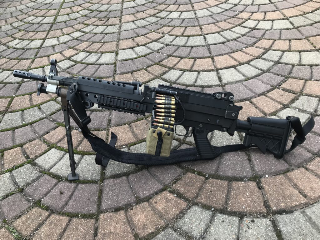 A&K M249 replica with replaced wiring