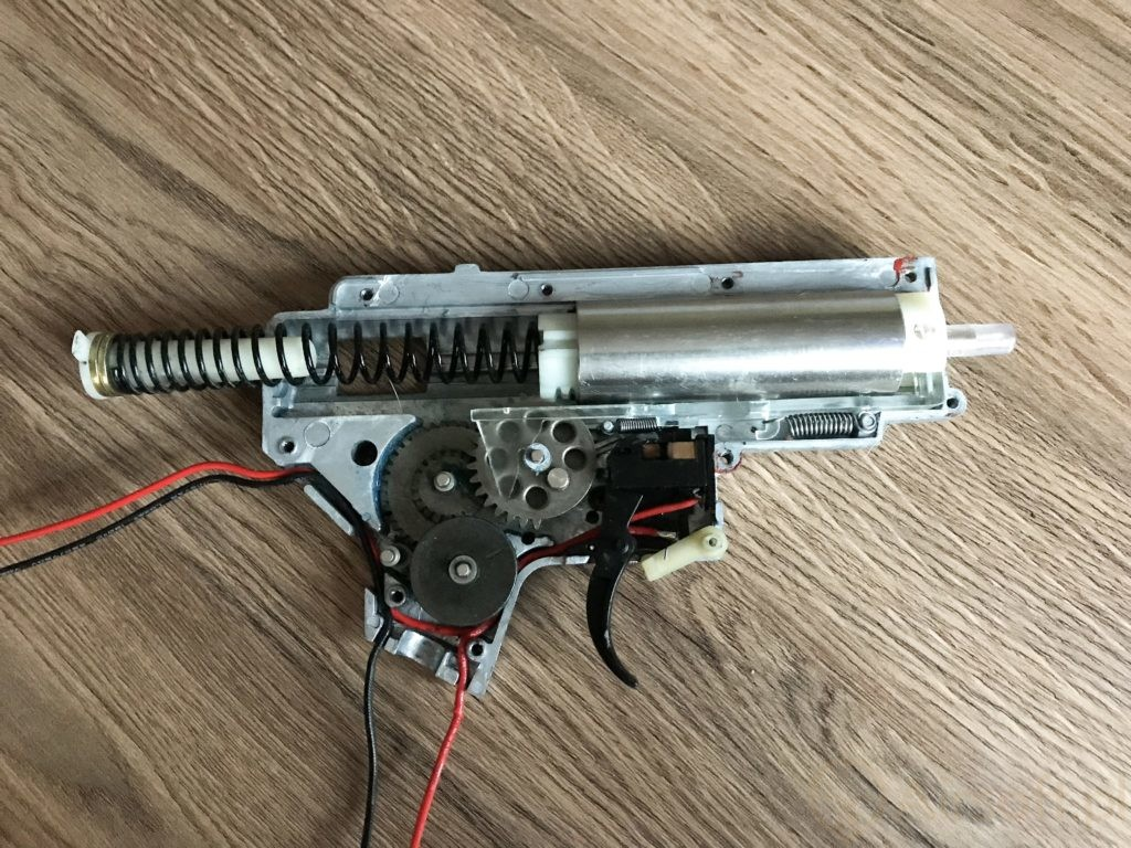 stockowe repliki ASG - upgrade gearboxa