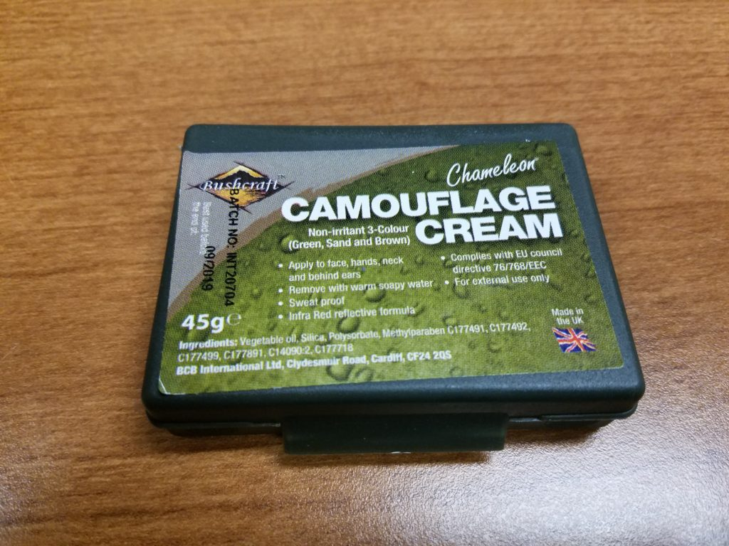 airsoft camouflage - set of face camo paints