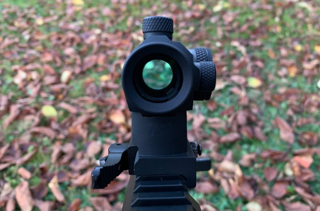 image through the airsoft sight