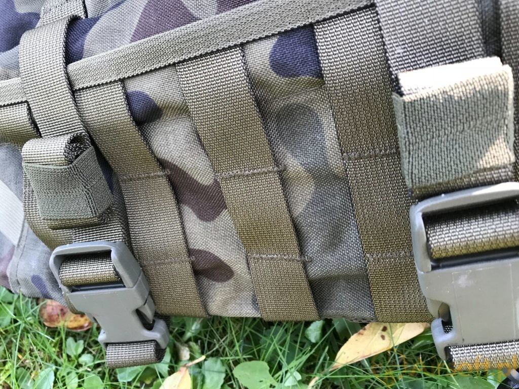 Wisport Sparrow 16 backpack molle tapes