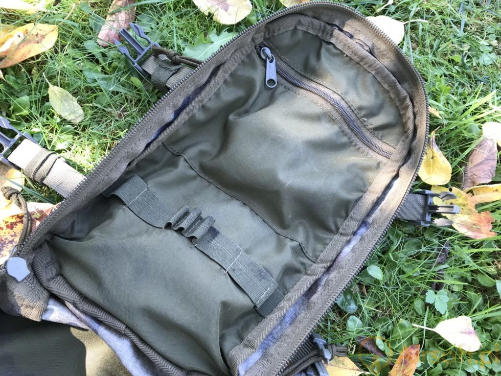 Wisport Sparrow 16 backpack construction