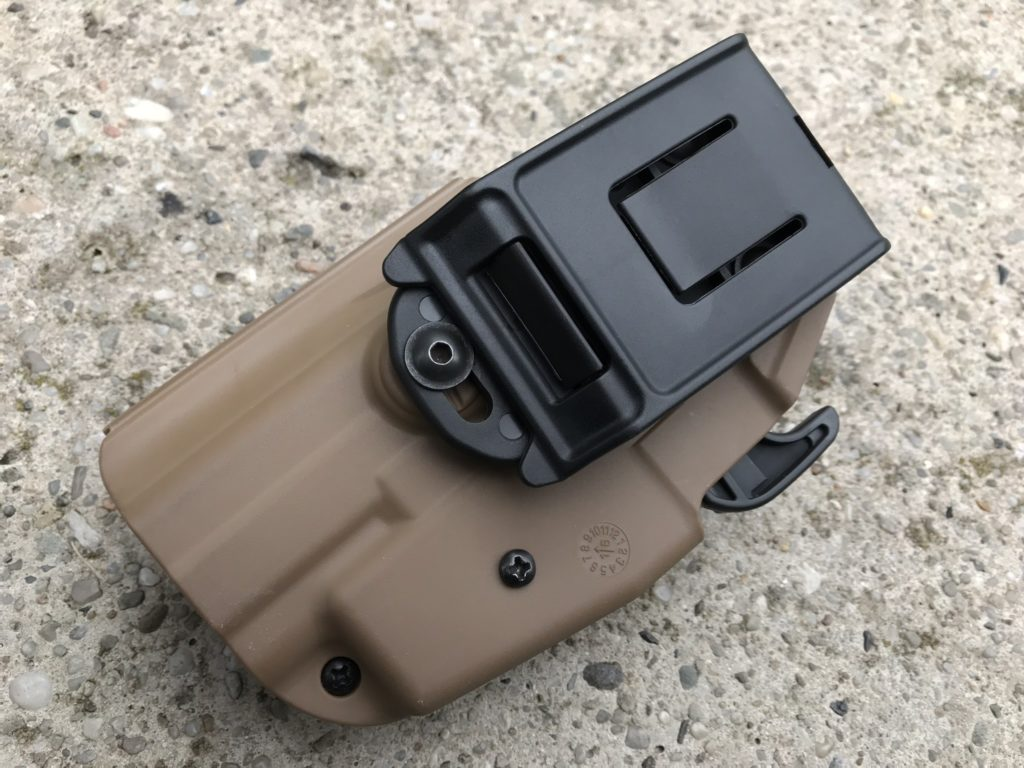 TMC 5X79 Compact universal holster mounting 2