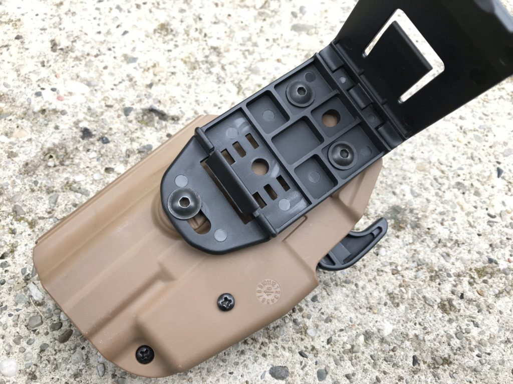 TMC 5X79 Compact universal holster mounting
