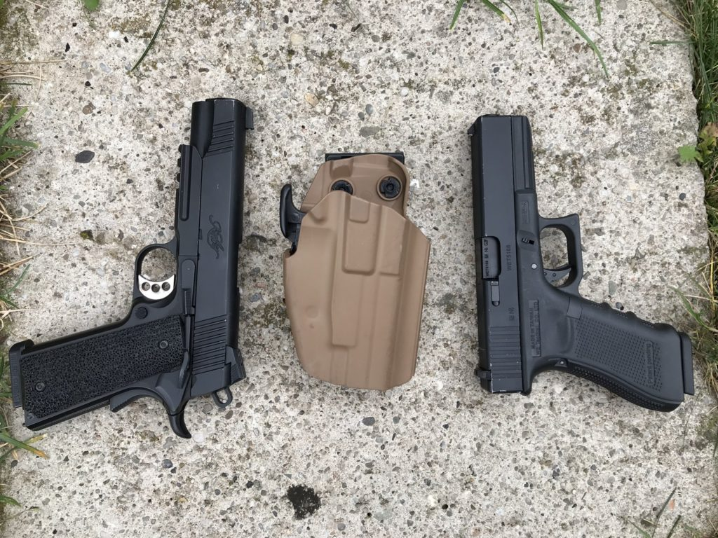 TMC 5X79 Compact universal holster and replicas