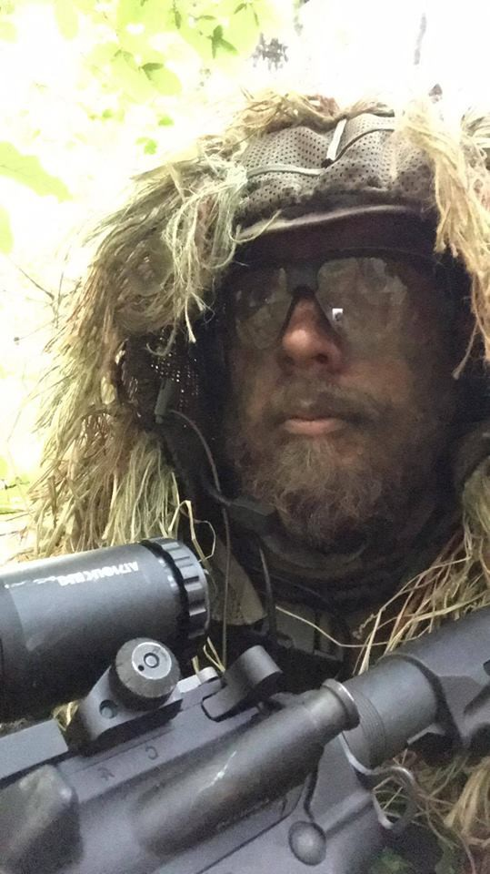 full face camouflage